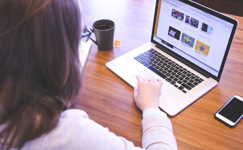 Die Positionierung der Webseiteninhalte ist entscheidend